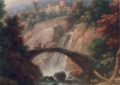 Cignaroli, particolare del ponte del Diavolo