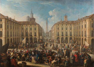 Graneri - Piazza del mercato di Porta Palazzo