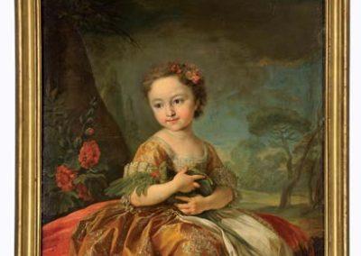 Van Loo - ritratto di Maria Gabriella di Savoia