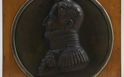 Ritratto di profilo del Marchese di Moncrivello