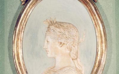 Bassorilievo raffigurante Olimpia