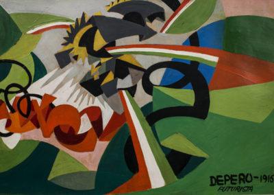 Depero - Paesaggio guerresco-600 px