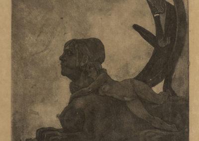 V.F.Tav. 1-Felicien Rops, Le Sphinx_25cm-300dpi