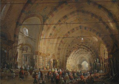Bossoli-Interno di un bazar a Costantinopoli_25cm-300dpi