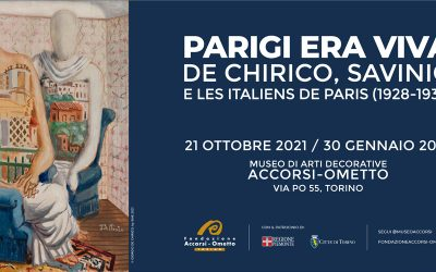 PARIGI ERA VIVA. DE CHIRICO, SAVINIO E LES ITALIENS DE PARIS